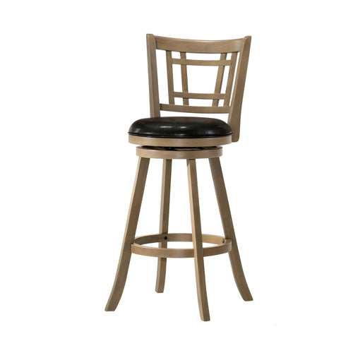 Brenton Transitional Maple Barstool