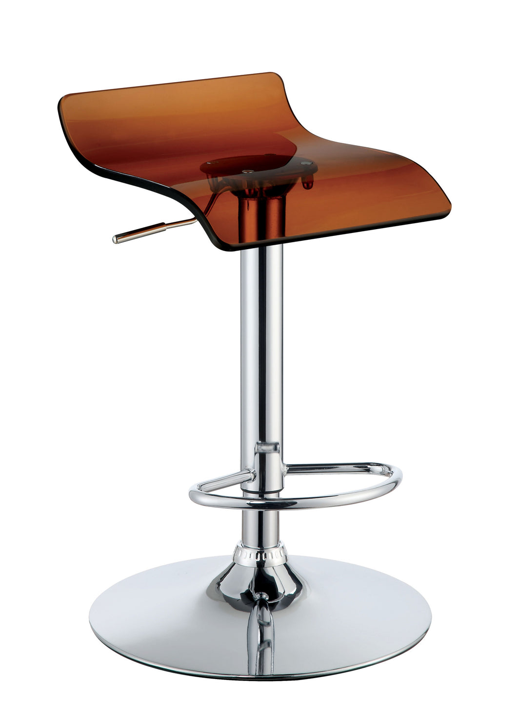 Lilith modern low back waterfall bar chair 24 7 shop at home for Waterfall seat design