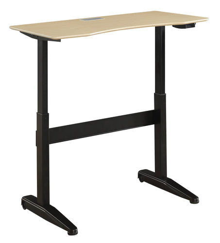 Reimann Modern 47-Inch Adjustable Height Computer Table