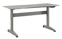 Reimann Modern 59-Inch Adjustable Height Computer Table
