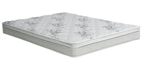 Trent 9-inch Euro Top Medium Plush Non-Flip Mattress