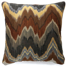 Aviana Multi-Colored Zigzag Pattern Throw Pillow (Set of 2)