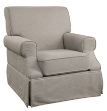 Juliette Transitional Swivel Rocker Arm Chair