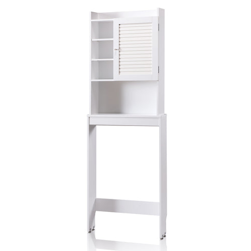 Hanson Space Saver White Bathroom Storage Cabinet