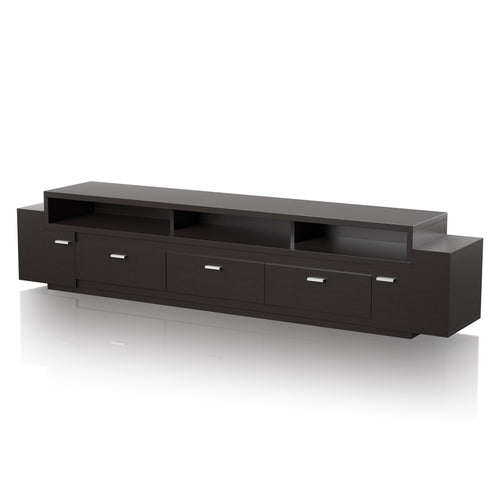 Augustine 84-inch Multi Drawer Cappuccino TV Stand