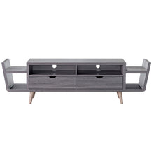 Enterprise Modern 70-inch Distressed Grey TV Stand