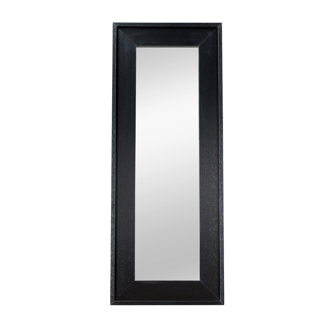 Jarvis Modern Black Accent Mirror