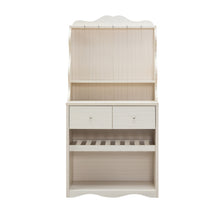 Meadow Creek Rustic Ivory Cabinet
