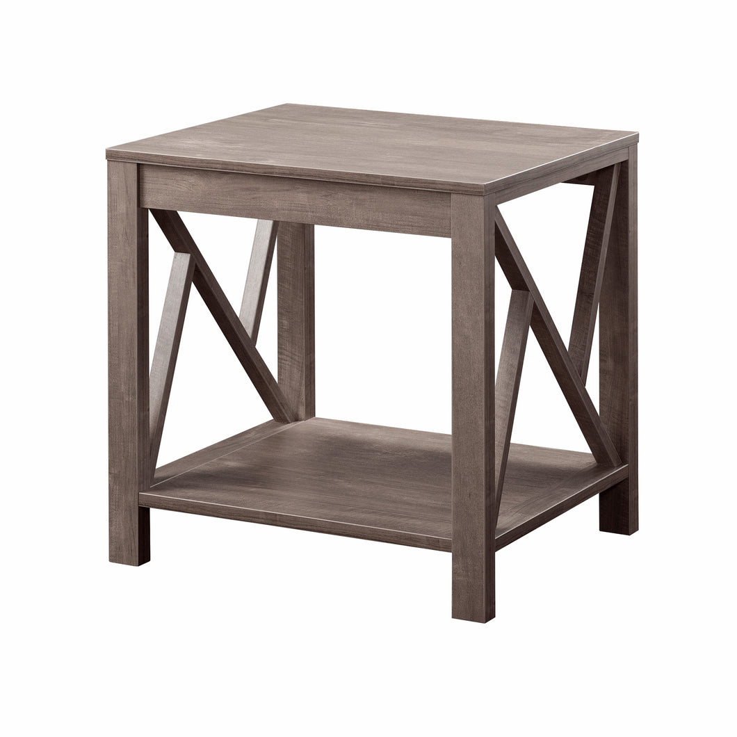 Maple Valley Rustic Hazelnut End Table
