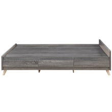 Tilmore Contemporary Distressed Grey Storage Bed