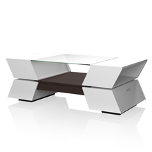 Turner Contemporary Two-tone Multi-storage Coffee Table