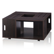 Brando Espresso Crate Inpired Coffee Table
