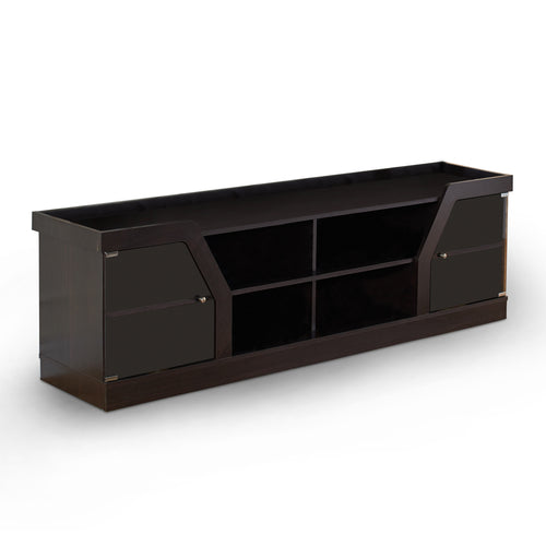 Andrian Multi Shelf 70-inch Espresso TV Stand