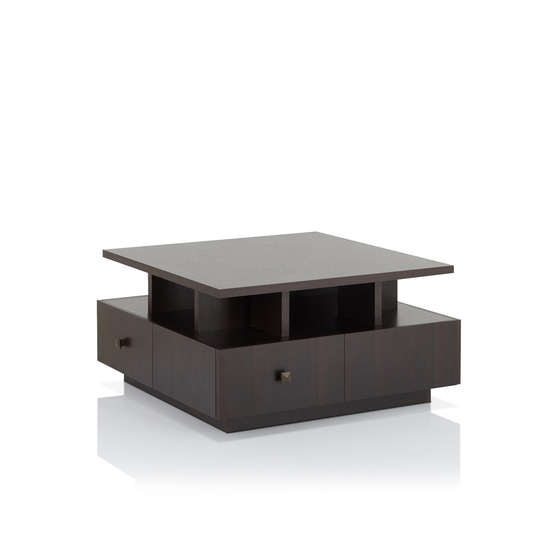Sarita Espresso Finish Coffee Table