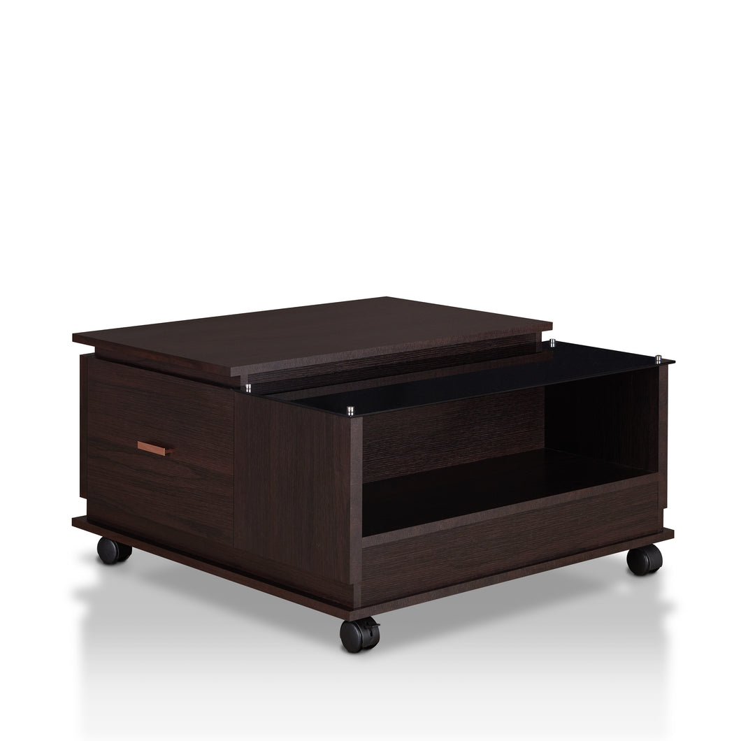 Spenceley Modern Espresso Coffee Table