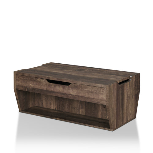 Medora Rustic Reclaimed Oak Coffee Table