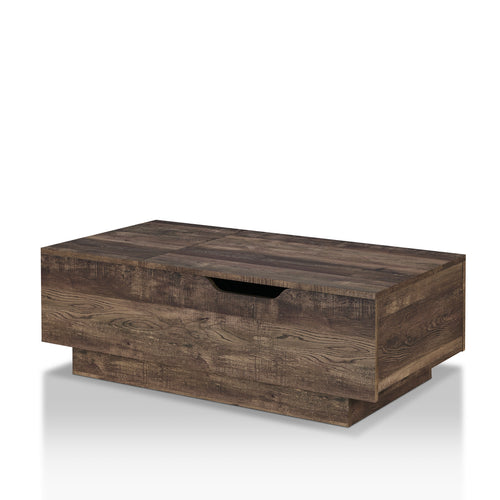 Harsin Rustic Reclaimed Oak Coffee Table