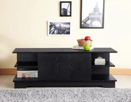 Garroni Contemporary Black 47-inch TV Stand