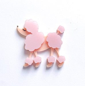 french poodle brooch