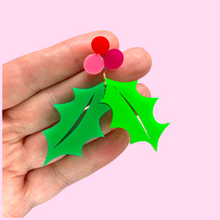 Load image into Gallery viewer, colourful christmas earrings