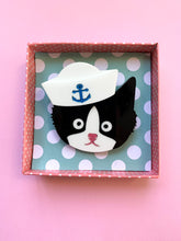 Load image into Gallery viewer, Sailor Cat (no whiskers)