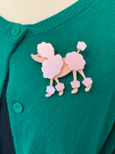 Load image into Gallery viewer, rockabilly vintage poodle brooch