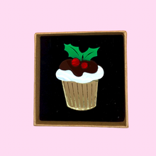 Load image into Gallery viewer, Christmas Pudding Brooch