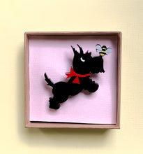 Load image into Gallery viewer, scotty-dog-brooch