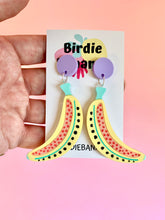 Load image into Gallery viewer, Pastel Banana Earrings