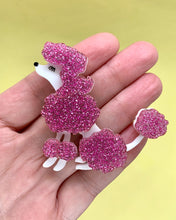 Load image into Gallery viewer, poodle dog brooch