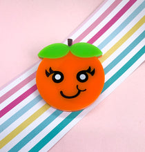 Load image into Gallery viewer, Super Cute Orange Brooch