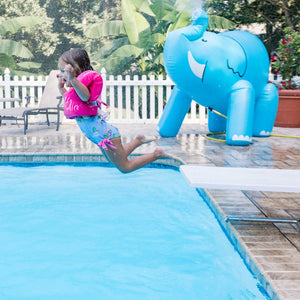 Gigantic Unicorn & Elephant Backyard Sprinkler