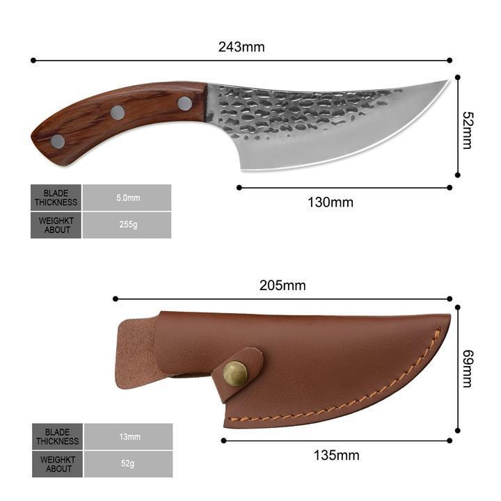 Handmade Fixed Blade Sharp Knife