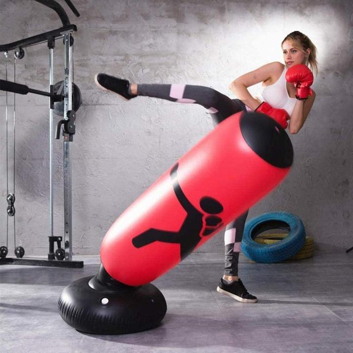 Inflatable Boxing Punch Bag for Adult & Kids