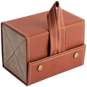 Leather Multiple Glasses Storage Case