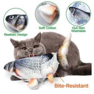 The Real Moving Fish Cat Toy