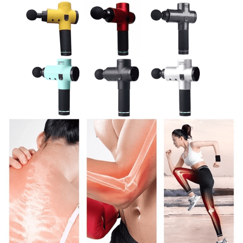 4 In One,Relieving Pain,3 Speed Setting Body Deep Muscle Massager