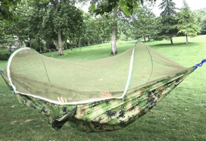 LockMesh+ Camping Netted Hammock