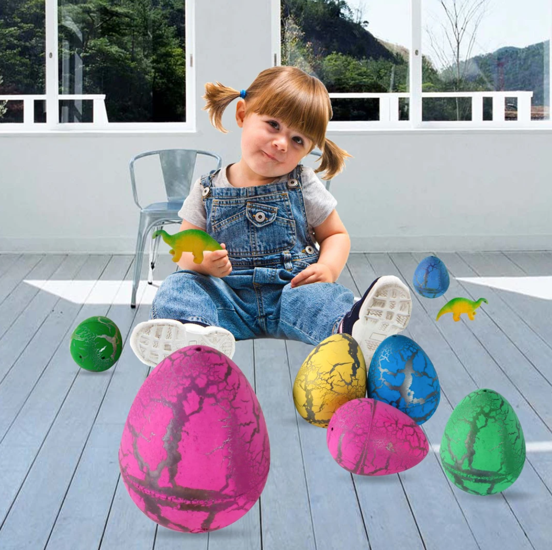 Easter Magic Hatching Growing Dinosaur Eggs