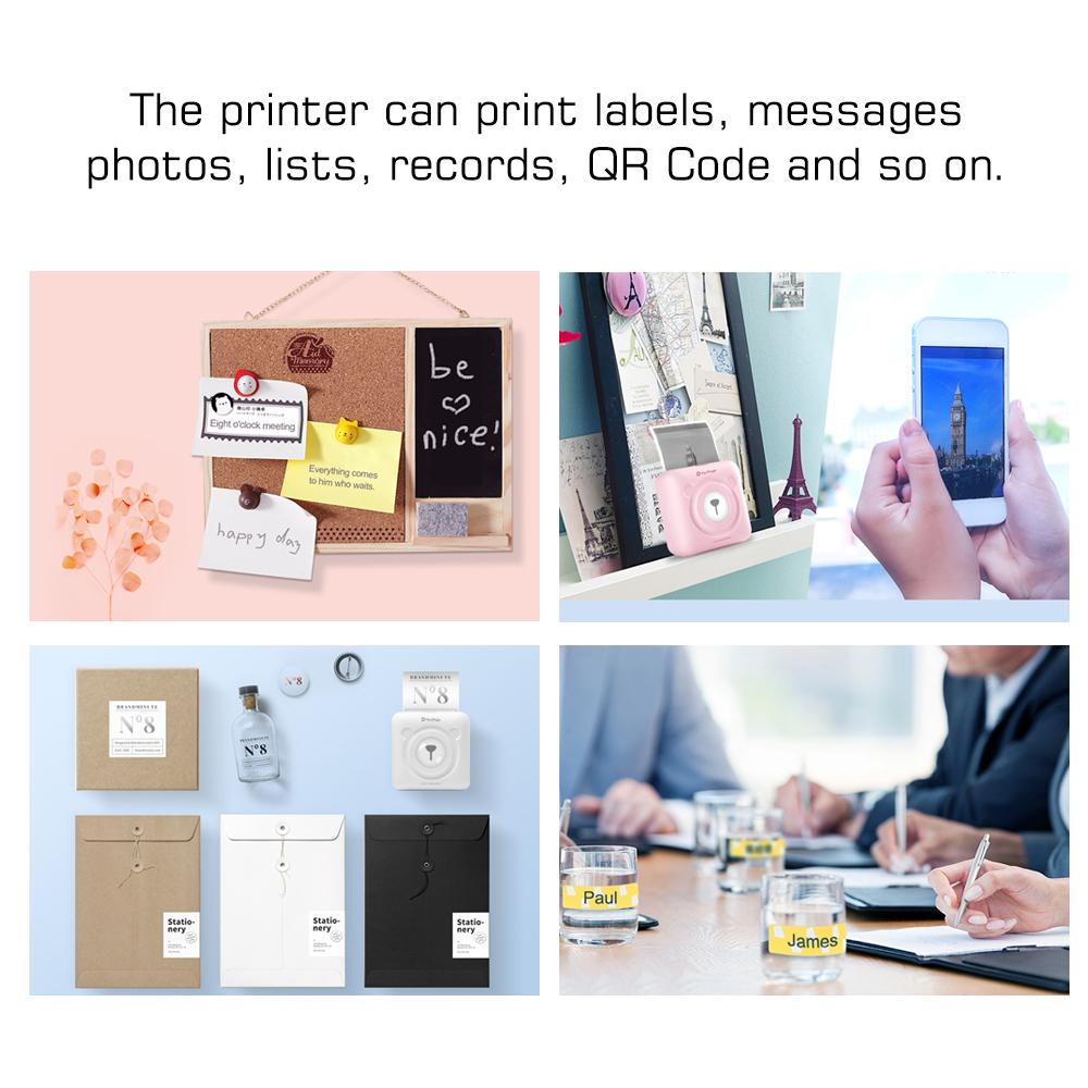 Mini Pocket Wireless Printer Picture