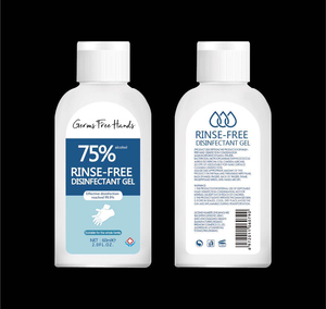 Germs Free Hands - Anti-Bacterial Hand Sanitizer
