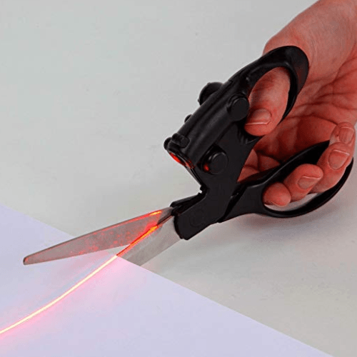 Laser Guided Scissors