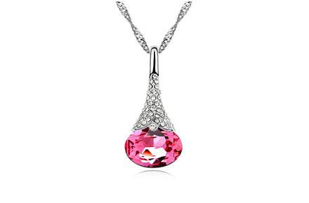 Crystal Water Drop Pendant - Florence Scovel - 6