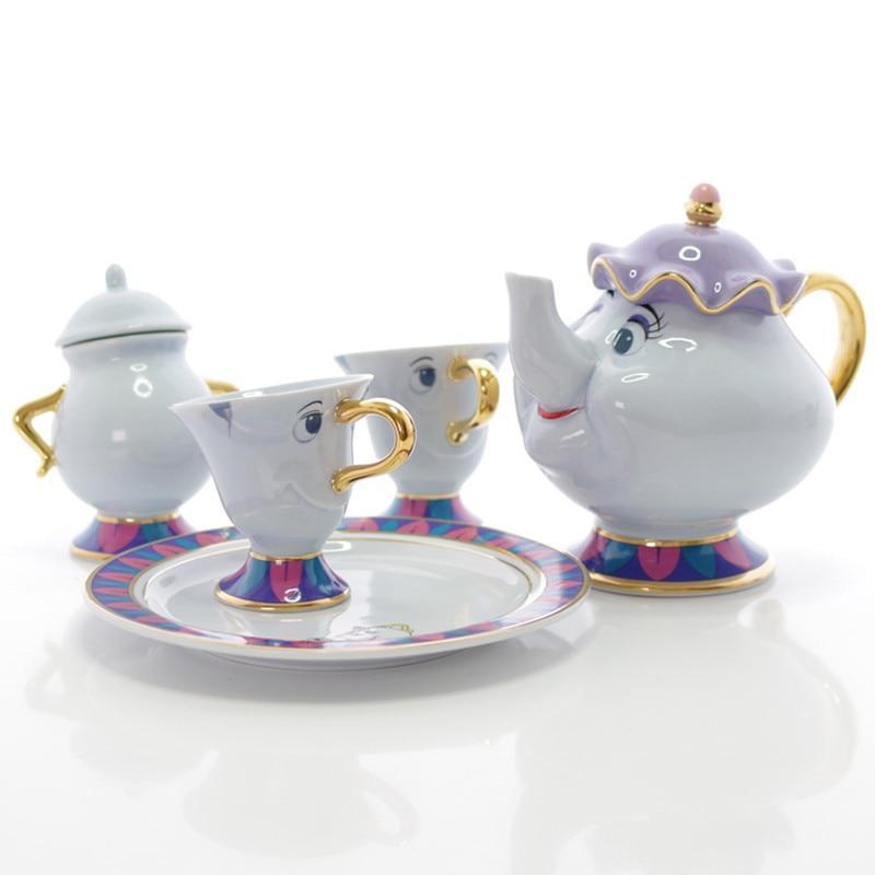Beauty Teapot and Cup Set