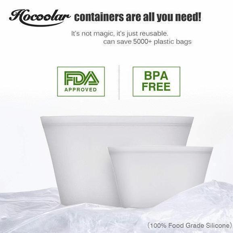Leakproof Containers Stand Up (Completely Plastic-Free)
