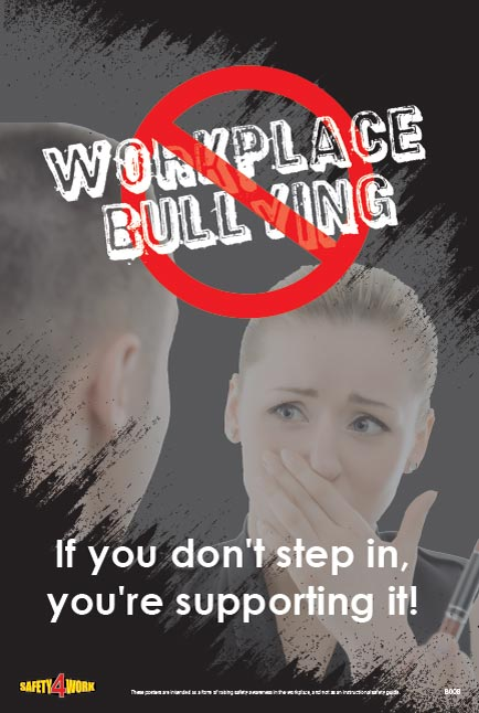 B008- Behaviour Workplace Safety Poster