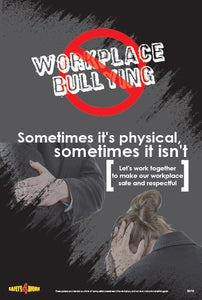 B010- Behaviour Workplace Safety Poster