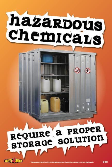 CH005- Chemical Workplace Safety Poster