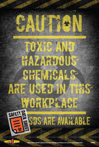 CH008- Chemical Workplace Safety Poster