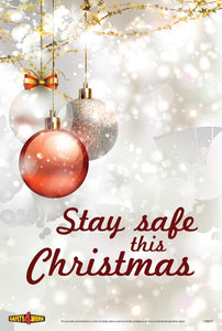 CM007- Christmas Workplace Safety Poster